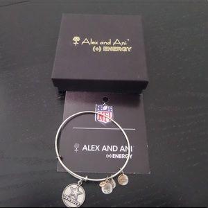 Alex and Ani Dallas Cowboys Charm Bracelet